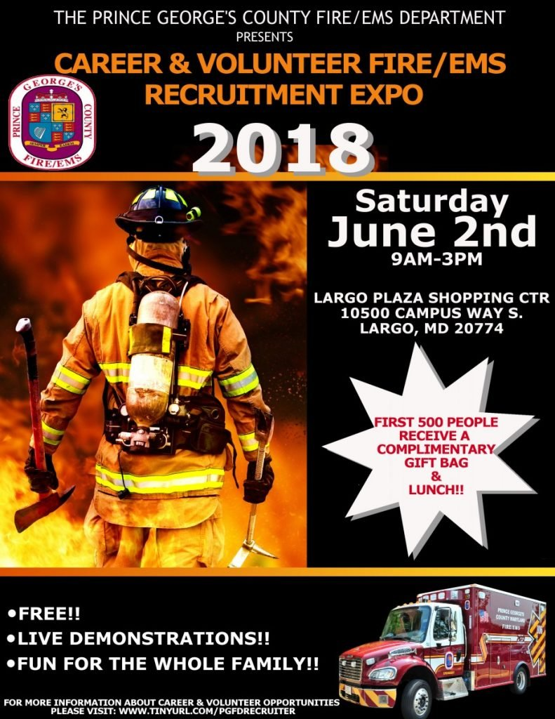 Don't miss our Recruitment Fire/EMS EXPO!
