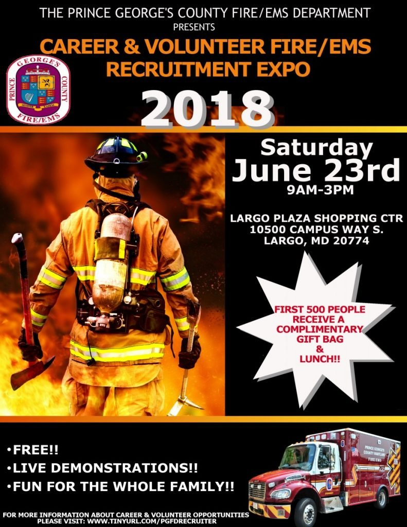New Date for Fire/EMS Recruitment EXPO!